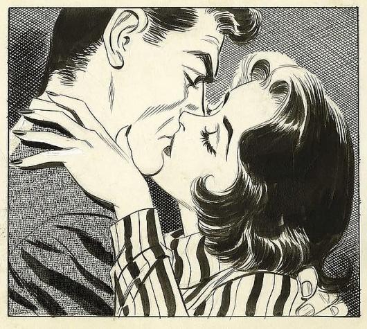 vintage kiss #comic
