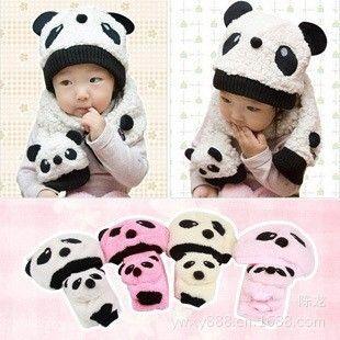 Дешевое Корейская версия панда шляпу хлопок бархат из двух частей костюм шарф шляпа зимние шапки оптовая продажа крышка младенца для детей, Купить Качество Другие выдвиженческие шлемы & крышки непосредственно из китайских фирмах-поставщиках: