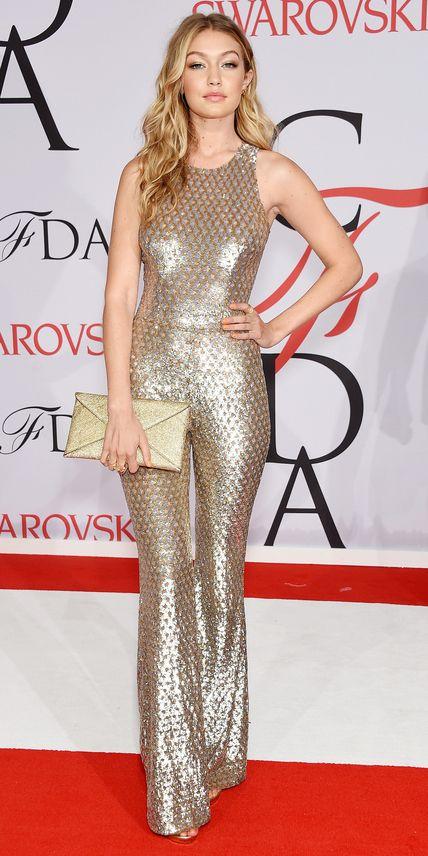 Gigi Hadid in Michael Kors.