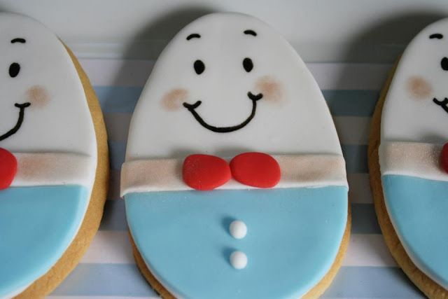 Humpty Dumpty Themed Birthday Party Humpty Dumpty Biscuits