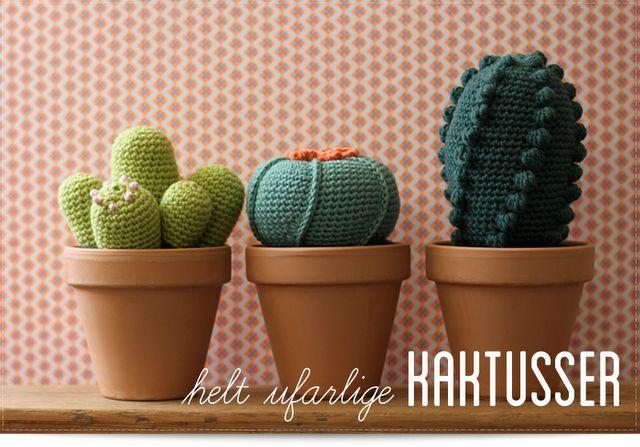 Cactus d'amigurumi. Amigurumi cacti