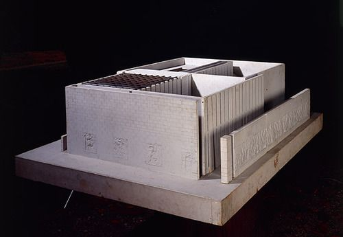 Giuseppe Terragni e Pietro Lingeri  Danteum, 1940    Memorial inspired by Dante Alighieri's Divine Comedy.