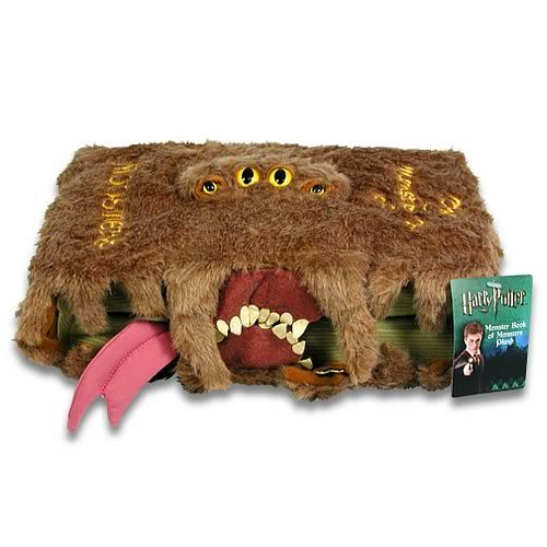 Harry Potter Monster Book of Monsters Plush $19.99