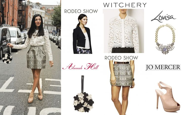 Get my LFW look from Highpoint Shopping Centre.  Dusty Petals reporting for Highpoint Shopping Centre at LFW.