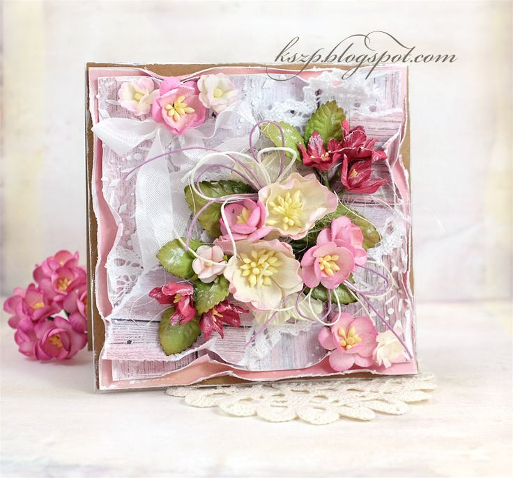 2 różowe kartki