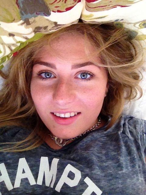 Selfie time in bed!