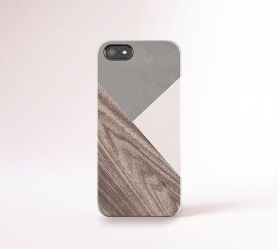Color Block iPhone Case Wood Print iPhone 6 Case von casesbycsera