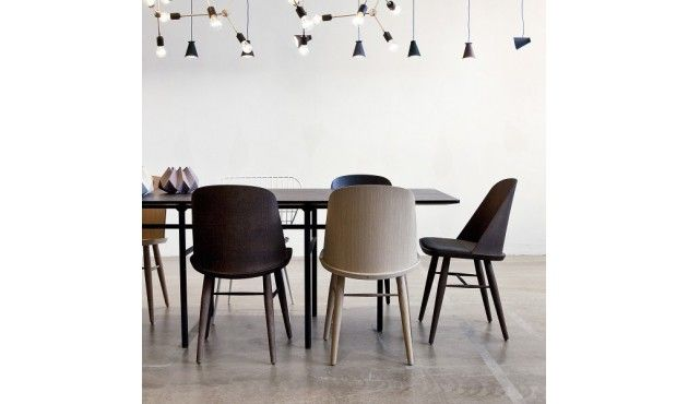 Synnes Dining Chair - Textile - Eiche von Menu