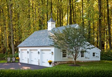 Colonial Farmhouse - traditional - garage and shed - philadelphia - Worthington Custom Builder Inc.