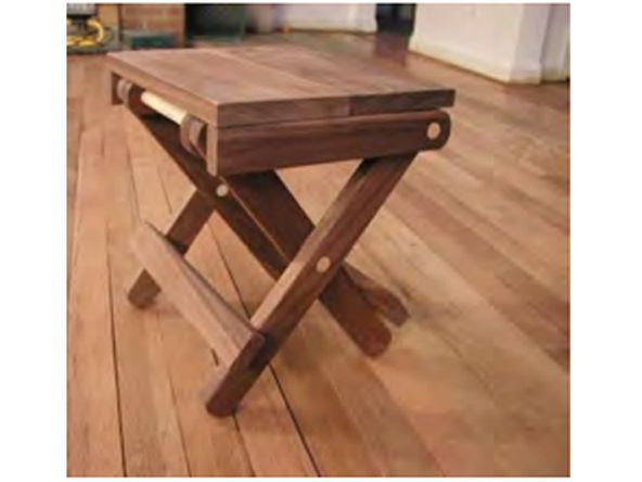 Instructions for making folding end table stool sca for Wood table instructions