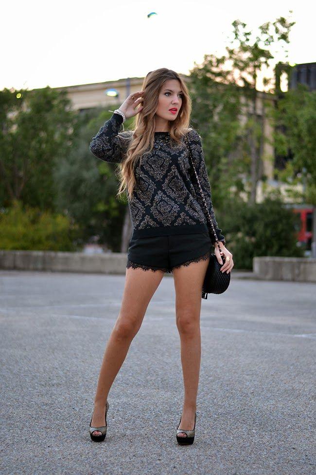 SHORTS LENCEROS | Mi aventura con la moda
