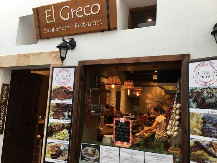El Greco Steakhouse Restaurant, Λίνδος: Δείτε 31 αντικειμενικές κριτικές για El Greco Steakhouse Restaurant, με βαθμολογία 4,5 στα 5 στο TripAdvisor και ταξινόμηση #39 από 79 εστιατόρια σε Λίνδος.