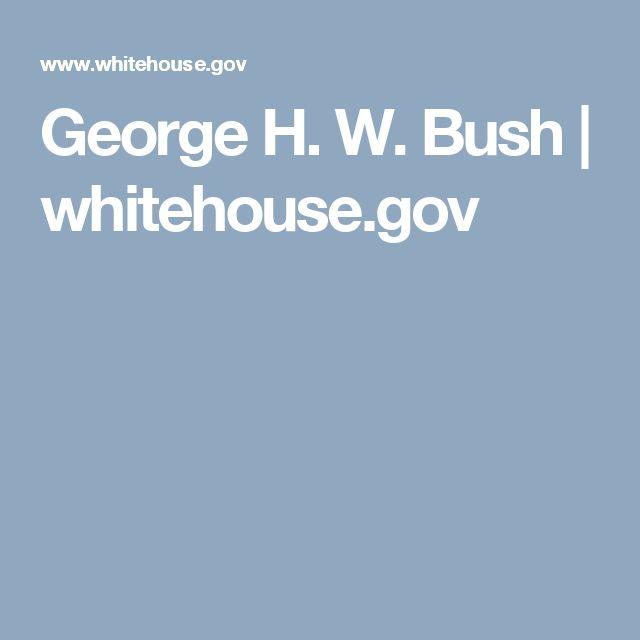 George H. W. Bush | whitehouse.gov