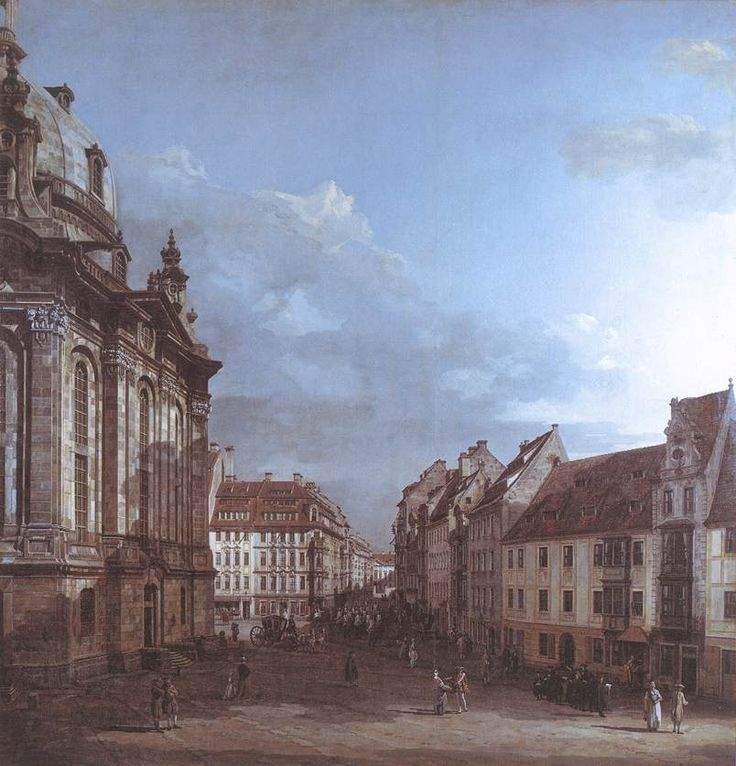 Image result for Dresden, the Frauenkirche and the Rampische Gasse