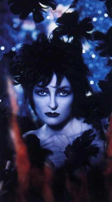 "Siouxsie Sioux by Pierre et Gilles, apparently from a ""Siouxsie and the Banshees"" cover."