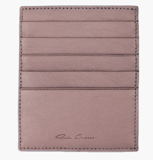 http://chicerman.com  7wallets:  Rick Ownes Silver Five Slot Card Holder  #accessories