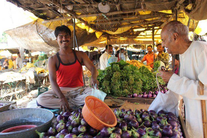 At the market, Rajasthan, India #india #travel #Kamalan #culture #photo #Rajasthan #food