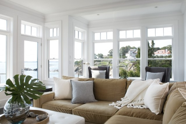 cozy: Idea, Living Rooms, Beaches House, Window View, Dreams, Color, Architecture Interiors, Families Rooms, Contemporary Living