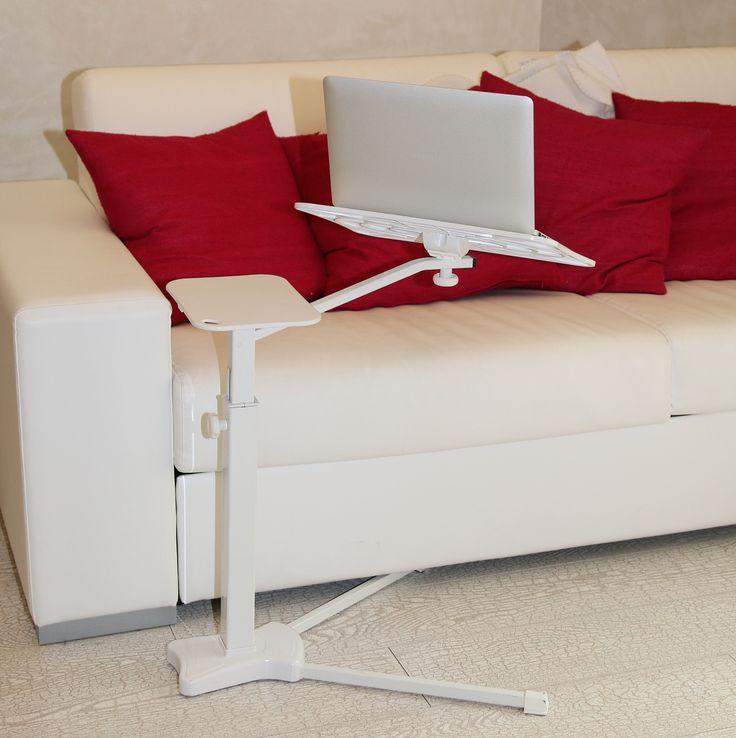 Lounge-book White Ergonomic laptop support in JHV Verona