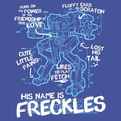 RvB Freckles Shirt