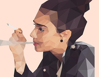 """Check out new work on my @Behance portfolio: """"Geometric artwork Low Poly"""" http://be.net/gallery/53533105/Geometric-artwork-Low-Poly"""