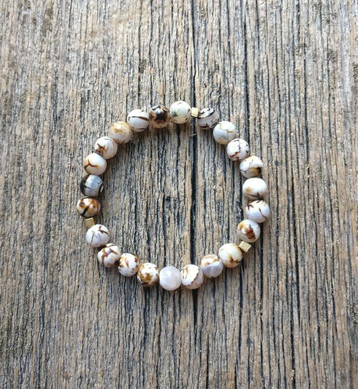 Grain Agate bracelet - WARRIOR bracelet ✨