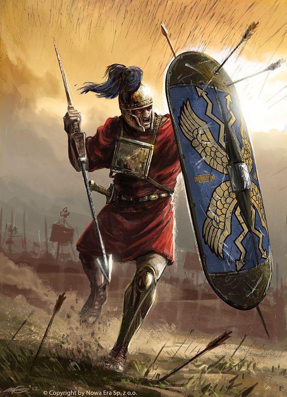 Римский гастат, III век до н.э.