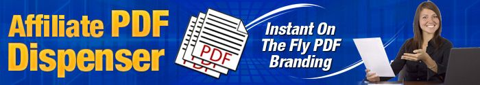 Brand Our Reports To Earn $$$. Easy On-The-Fly PDF Branding Of Reports with Your Affiliate Links Embedded!  Here's how you can easily earn affiliate cash simply promoting our products and services, by automatically branding our PDF reports that you can give away to make money!