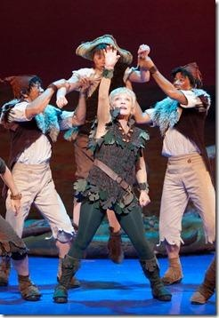 Cathy Rigby is Peter Pan I saw her as PeterPan when it came to were I live when I was 3. She was amazing!