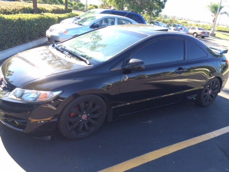 used 2009 honda civic si low miles classified ride pinterest honda civic si honda and. Black Bedroom Furniture Sets. Home Design Ideas