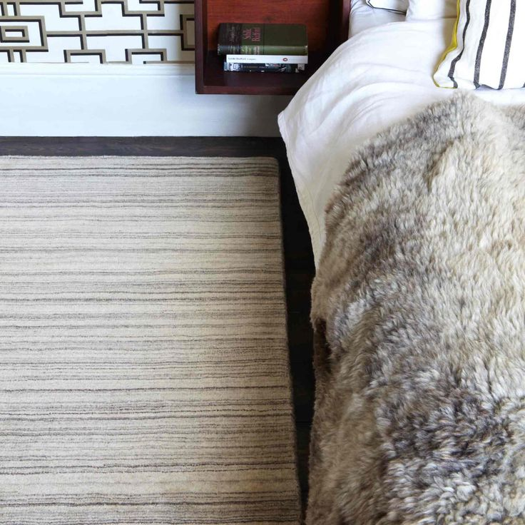 Sometimes Simplicity can be Adorning and so is this Simply Natural Rug… #stripedrugs #woolrugs #newzealandwoolrugs #largerugs #modernrugs #luxuryrugs
