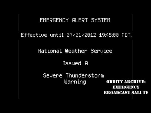 Oddity Archive: Episode 2  Emergency Broadcast Salute (2016 RE-EDIT)
