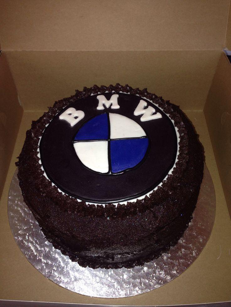Rich chocolate cake....BMW style