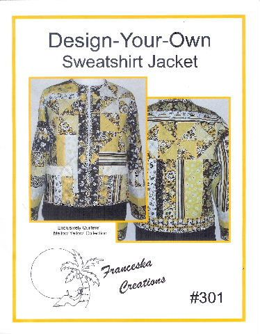 Guidelines and ideas to design your own sweatshirt jacket.