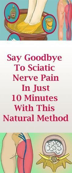 Say Goodbye To Sciatic Nerve Pain In Just- 10 Minutes With This Natural Method