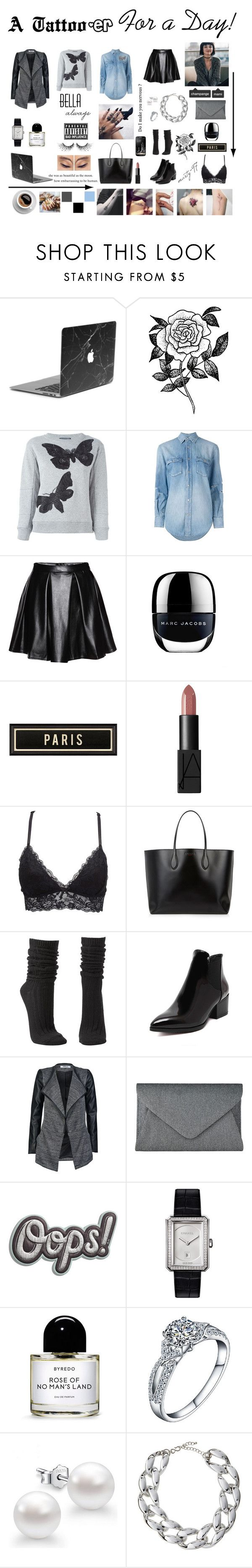 A Tattooer for a Day! by marty-97 on Polyvore featuring moda, Alexander McQueen, Yves Saint Laurent, ONLY, Charlotte Russe, Rochas, John Lewis, Anya Hindmarch, Kenneth Jay Lane and Chanel