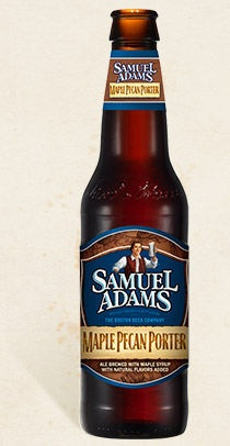 Sam Adams Maple Pecan Porter (SHANE'S RATING 3.75 out of 5)
