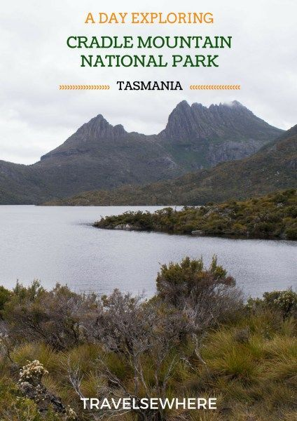 One of the most popular and stunning national parks in Tasmania, Cradle Mountain National Park is home to breathtaking landscapes, plenty of hiking trails and even the occasional wombat, via @travelsewhere