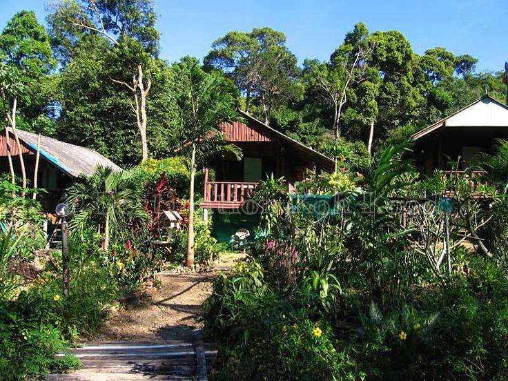 The huts at Jimmy Hut (Koh Kood, Thailand)