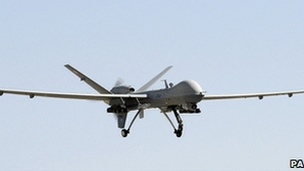 Apr 27 Armed drones operated from RAF base in UK, says MoD