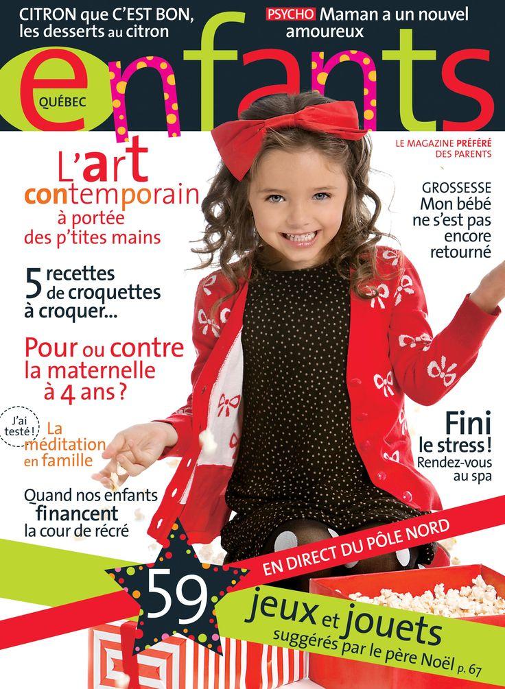Notre couverture de novembre 2013 - Enfants Québec