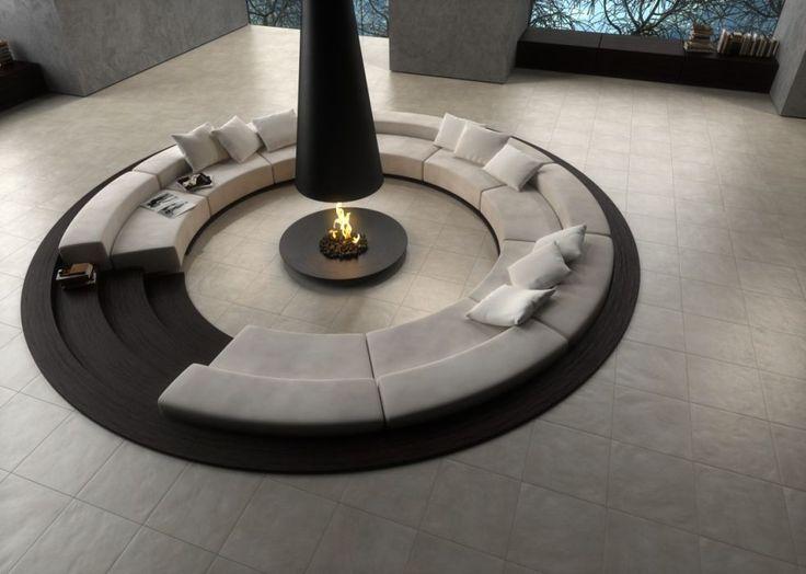 Le charme des surfaces d'antan renaît dans une interprétation surprenante, qui traduit les irrégularités ondulées des pierres érodées par le temps dans un produit à l'esthétique affirmée et contemporaine.