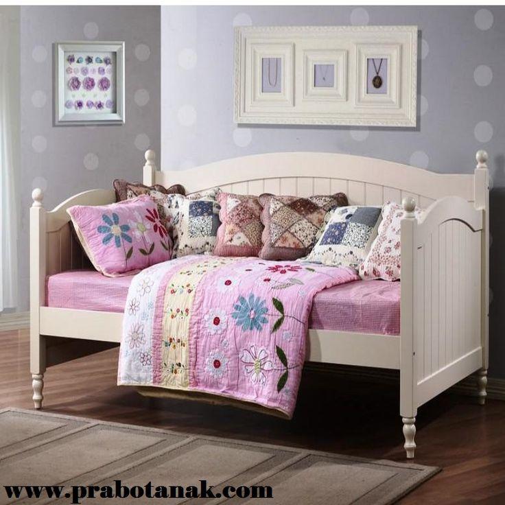 Sofa Bed Putih Untuk Anak Perempuan