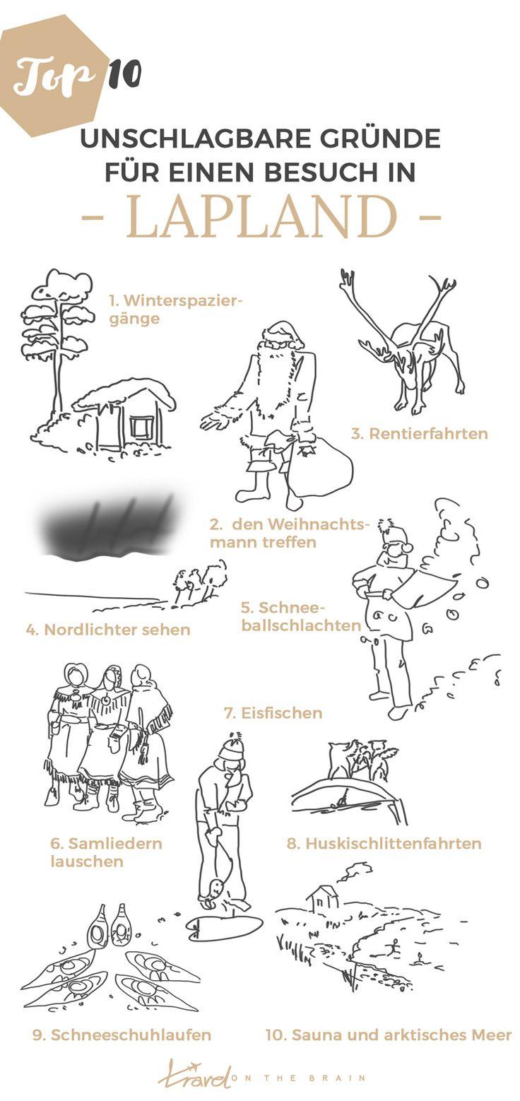 10 unschlagbare Gründe Finnisch Lappland im Winter zu bereisen (+ praktische Packliste)