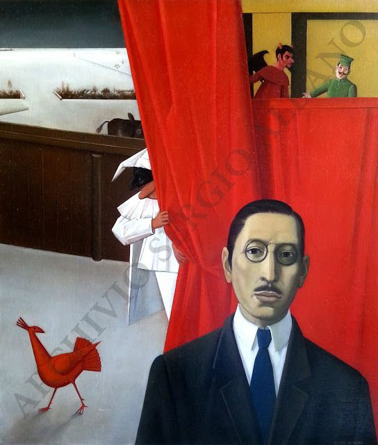 Portrait of Igor Stravinskij