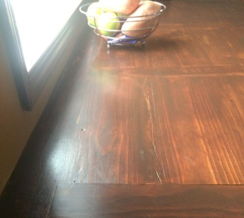 How To Stain an Antique Kitchen Table with Eco-Friendly Glaze - American Paint Company
