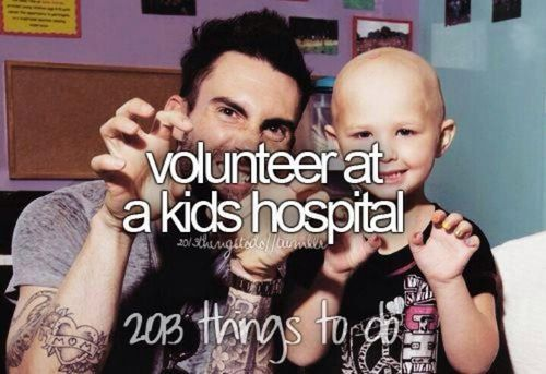 Imagine making 1 kid smile, then 10 kids, 100 then getting an award for most caring volunteer ever. Do it for the kids.