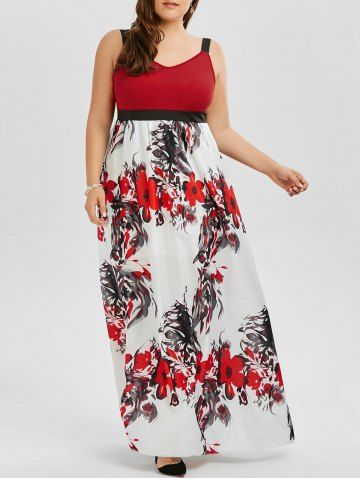GET $50 NOW | Join RoseGal: Get YOUR $50 NOW!http://www.rosegal.com/plus-size-dresses/floral-a-line-maxi-plus-1166927.html?seid=9169582rg1166927