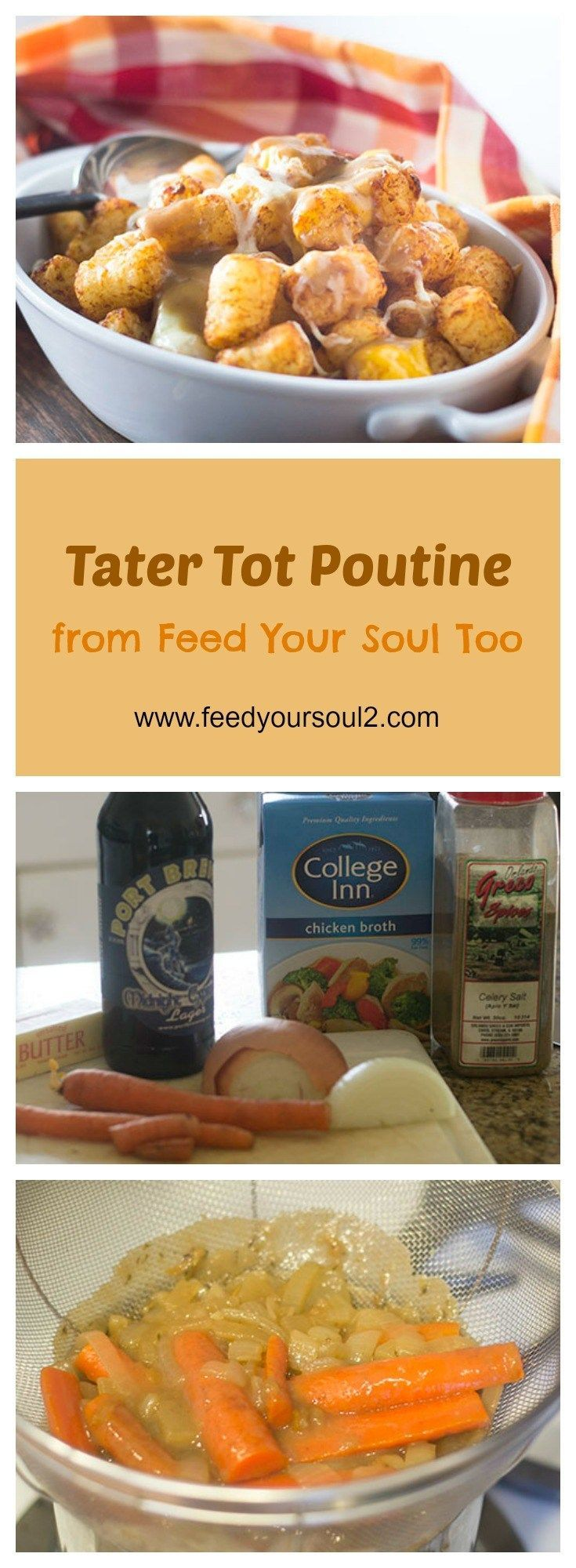 Tater Tot Poutine from Feed Your Soul Too