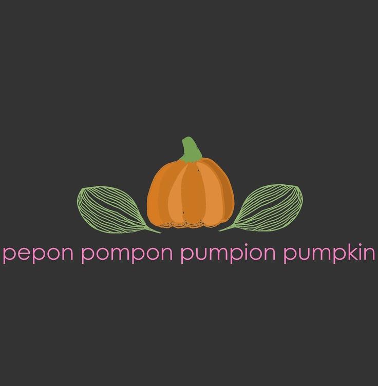#pumpkin #illustration #food #orange #dark #pink #sweet #lovely Halloween  pepon pompon pumpion pumpkin / by Taki Trik